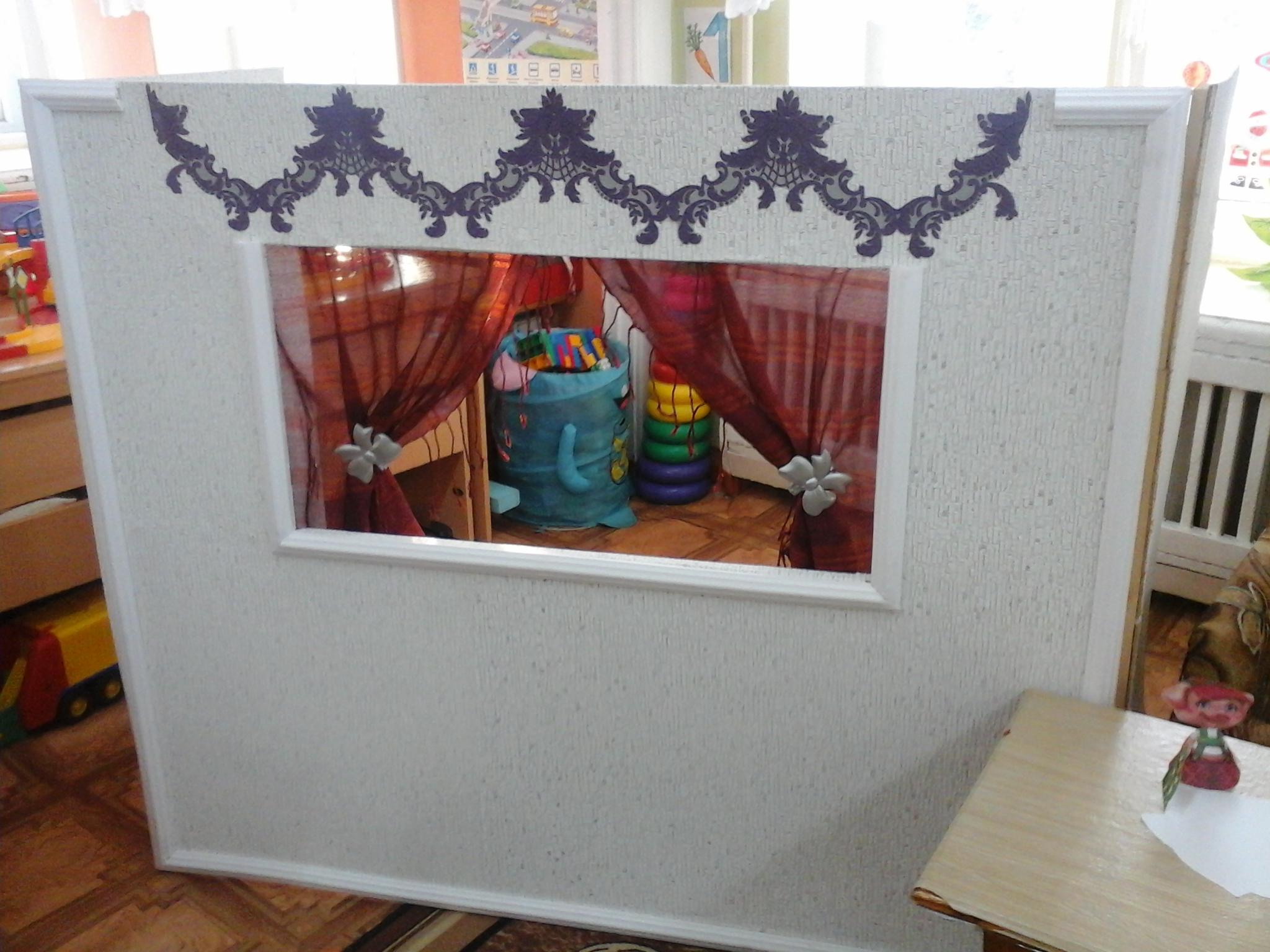 Уголок ряжения в детском саду: оформление своими руками, фото